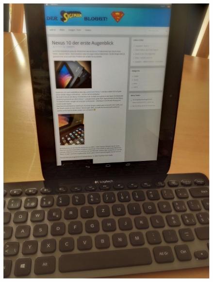 Nexus 10 Tastatur K810