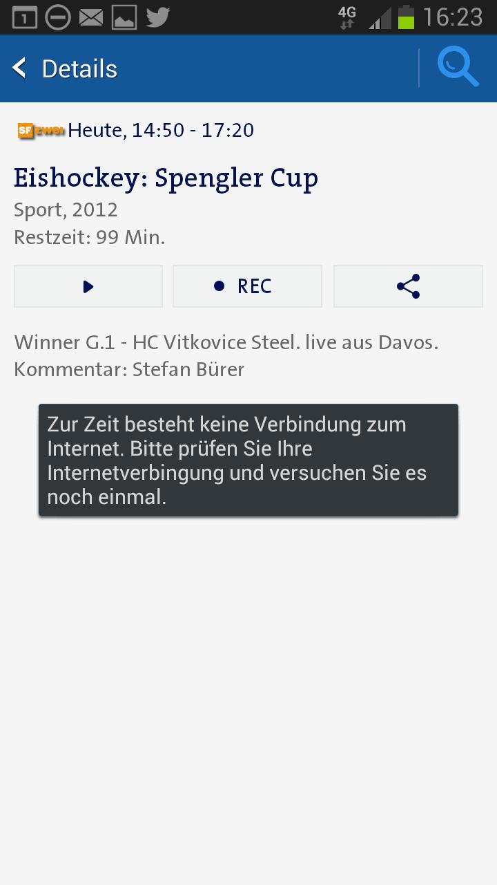 Swisscom TV AIr unterbuch