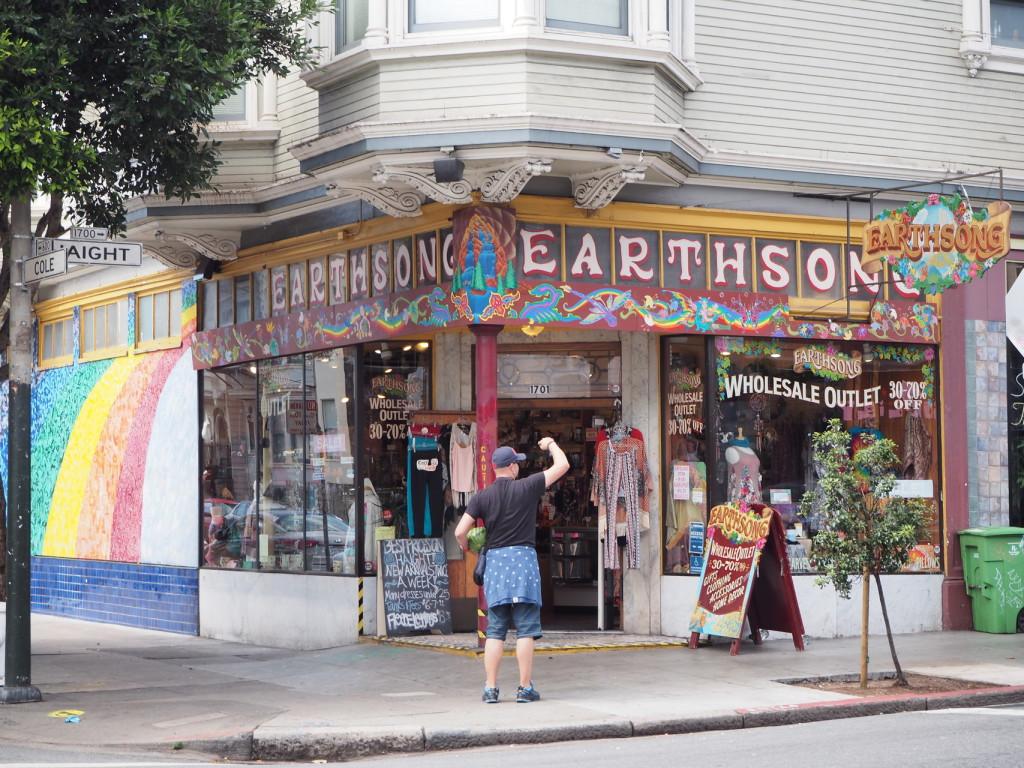 Haigh Ashbury und die Wassermelone in San Francisco