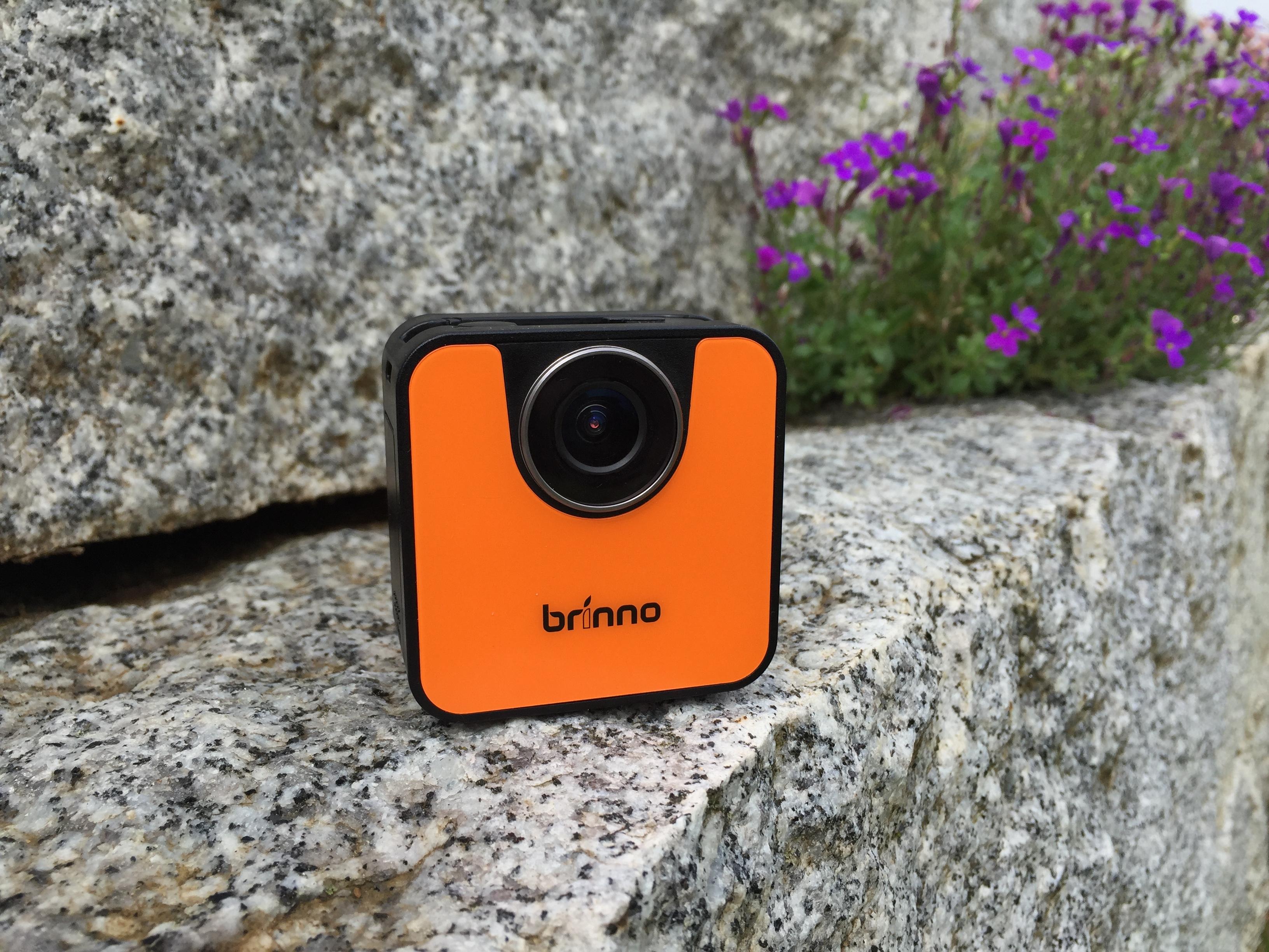 In knalligen Orange kommt die TLC 120 von Brinno daher