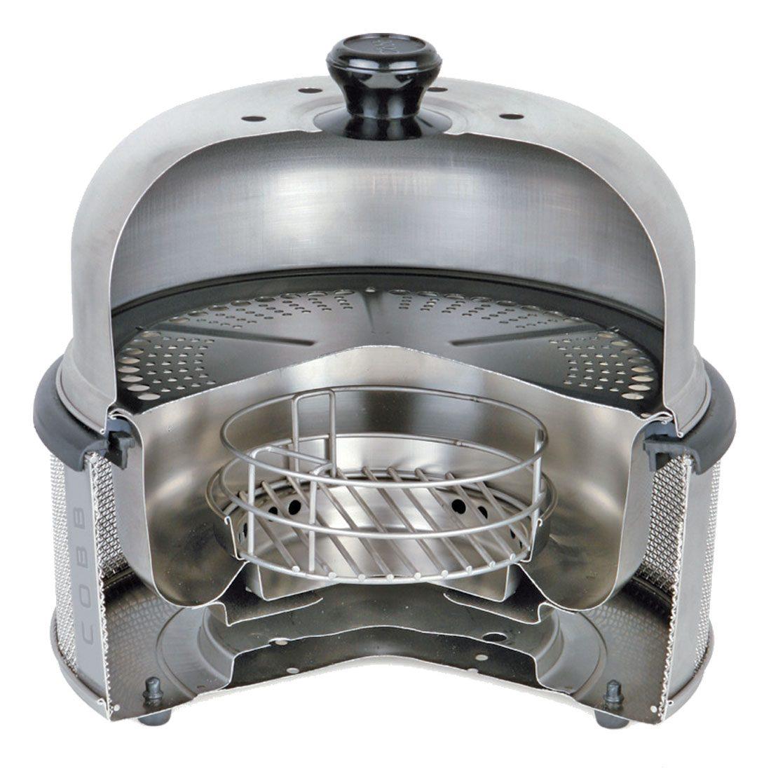 Aufbau des Cobb Grills - Quelle: cobb-grill.de