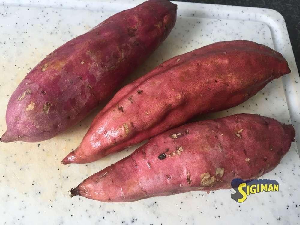 So sehen Süsskartoffeln aus